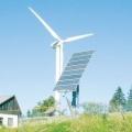 Начались испытания комбинированной ветросолнечной электростанции