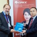 Топ-менеджмент GREE впервые посетил Россию