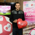 Футбольный День донора на заводе LG Electronics