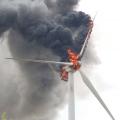 Пожары на турбинах предвещают конец наземной ветроэнергетики