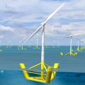 Крупнейший в мире плавучий ветропарк запущен в Великобритании