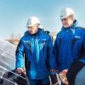В Омске заработала первая солнечная электростанция