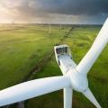 В Китае заложен фундамент самого мощного ветрогенератора в Азии