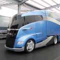 В Германии представили проект установки солнечных панелей на грузовиках