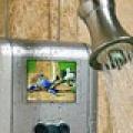 Япония: беспроводной телевизор для душа.