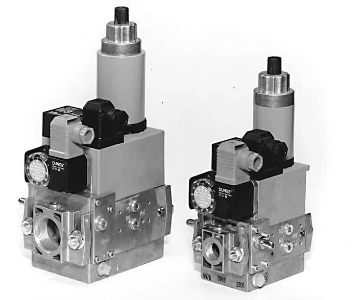 Газовый клапан dungs инструкция
